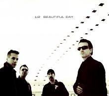 Beautiful Day (CD Single White - Canadian)