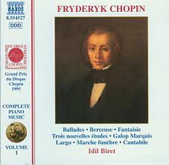 Chopin: Complete Piano Music CD1