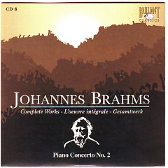Johannes Brahms Edition: Complete Works (CD8)