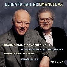 Brahms Piano Concerto No 2 Cello Sonata