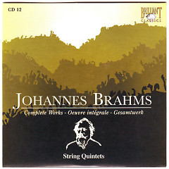Johannes Brahms Edition: Complete Works (CD12)