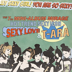 Album Mirage (7th Mini Album) - T-ARA
