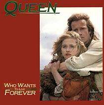 Whos Want To Live Forever - CDS