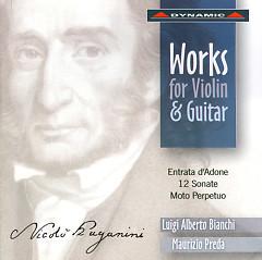 Nicolo Paganini  Complete Works For Violin And Guitar CD1 - Nicolo' Paganini