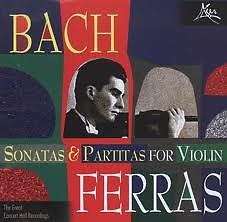 Sonatas And Partitas For Solo Violin CD1