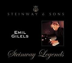 Steinway Legends Vol 9 - Emil Gilels I