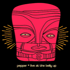 Live At The Belly Up (CD1) - Pepper
