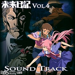 Mirai Nikki Blu-ray Vol.4 Soundtrack CD - Katou Tatsuya