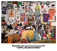 Superfly 10th Anniversary Greatest Hits 'LOVE, PEACE & FIRE' CD1 - Superfly
