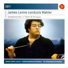 James Levine Conducts Mahler Dics 1