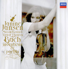 Bach - Inventions & Partita CD2 - Janine Jansen