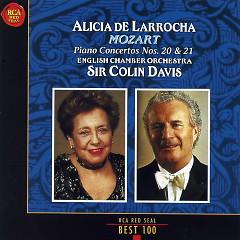 Mozart Piano Concertos Nos 20 & 21 - Alicia De Larrocha,Colin Davis