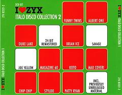 I Love ZYX Italo Disco Collection 2 cd3