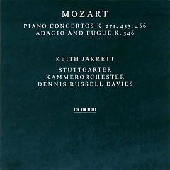 Piano Concertos K.271, 453, 466, Adagio and Fugue K.546 (CD1)