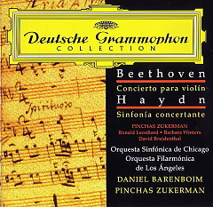 Beethoven · Haydn  Concerto for Violin and Orchestra Op.61 · Sinfonia Concer...
