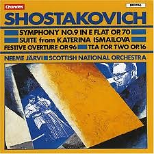 Shostakovitch:The Symphonies CD7 - Neeme Jarvi,Gothenburg Symphony Orchestra,Scottish Chamber Orchestra