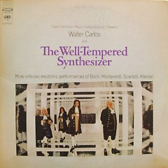 The Well Tempered Synthesizer CD1 - Wendy Carlos