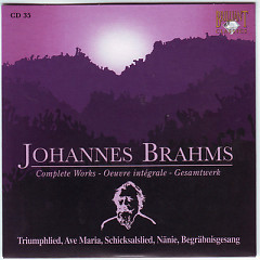 Johannes Brahms Edition: Complete Works (CD35)