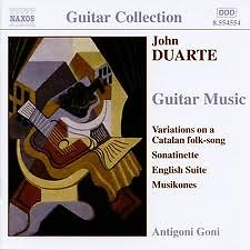 John Duarte - Guitar Music No. 2 - Antigoni Goni