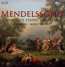Complete String Quartets Quintets Sextets & Octet CD1