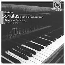 Brahms: Piano Sonatas nos.1 & 2 - Alexander Melnikov