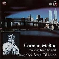 New York State Of Mind - Carmen Mcrae,Dave Brubeck