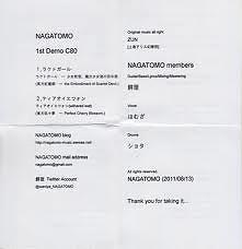 NAGATOMO 1st Demo C80