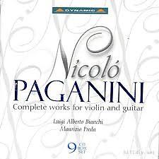 Nicolo Paganini Complete Violin And Guitar CD4