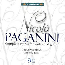 Nicolo Paganini Complete Violin And Guitar CD9 No.1 - Nicolo Paganini