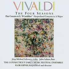 Vivaldi: The Four Seasons;Flute Concerto;Harpsichord Concerto No.1