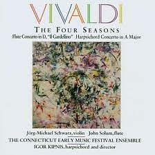 Vivaldi: The Four Seasons;Flute Concerto;Harpsichord Concerto No.2