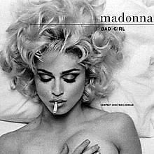 Bad Girl - Erotica (UK 5'' CDS - Germany)