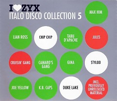 I Love ZYX Italo Disco Collection 5 cd3