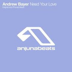 Need Your Love - Andrew Bayer