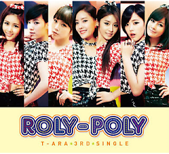 Album Roly Poly (Jacket B) - T-ARA