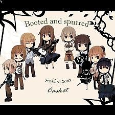 Booted and Spurred - Casket