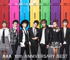 AAA 10th ANNIVERSARY BEST CD2 - AAA