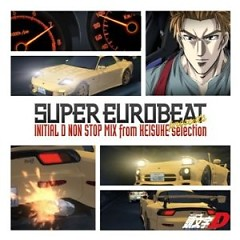Initial D Non-Stop Mix From Keisuke-Selection