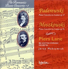 The Romantic Piano Concerto, Vol.01 – Moszkowski & Paderewski  - Piers Lane,BBC Scottish Symphony Orchestra,Jerzy Maksymiuk