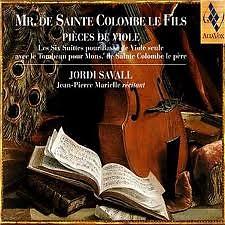 Mr.De Sainte Colombe Le Fils Pieces De Viole CD1 No.1