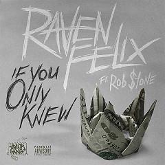 If You Only Knew (Single) - Raven Felix, Rob $tone