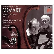 Isaac Stern:Mozart Violin Concertos CD1