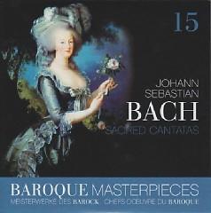 Baroque Masterpieces CD 15 - Bach Sacred Cantatas - Frans Brüggen