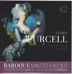 Baroque Masterpieces CD 42 - Purcell; Locke Anthems And Hymns - Leonhardt Gustav