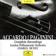 Accardo Plays Paganini - Complete Recordings CD3