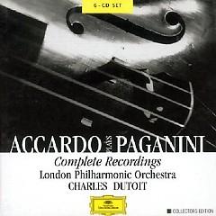 Accardo Plays Paganini - Complete Recordings CD4