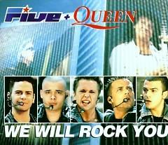 We Will Rock You (Single) - Five,Queen