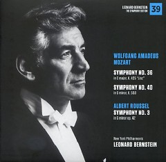 Wolfgang Amadeus Mozart – Symphonies No 36 & No 40, Albert Roussel – Symphony No 3