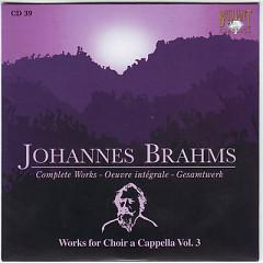 Johannes Brahms Edition: Complete Works (CD39)