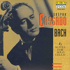 Gaspar Cassado Plays Bach Cello Suites CD2